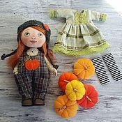 Кукла с набором одежды Тыковка