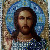 Картины и панно handmade. Livemaster - original item The Icon Of The Lord Of Vsederjitel. Handmade.