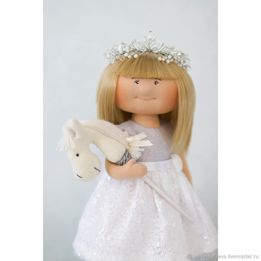 """Интерьерная кукла """"Принцесса на белом коне"""", Тыквоголовка, Минск,  Фото №1"""