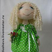 """Куклы и игрушки ручной работы. Ярмарка Мастеров - ручная работа Текстильная кукла """"Весенняя девочка"""". Handmade."""