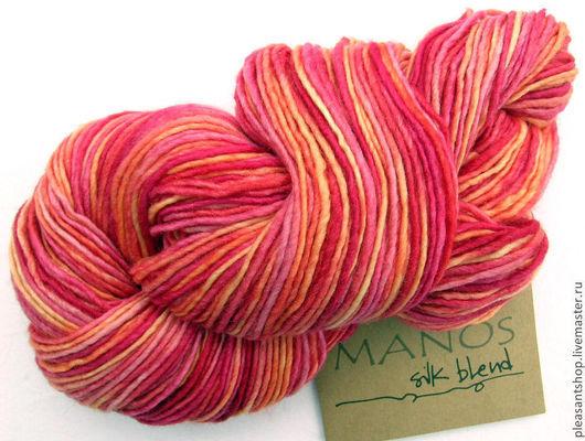 Вязание ручной работы. Ярмарка Мастеров - ручная работа. Купить Manos Silk Blend DK PEACH MELBA. Handmade.