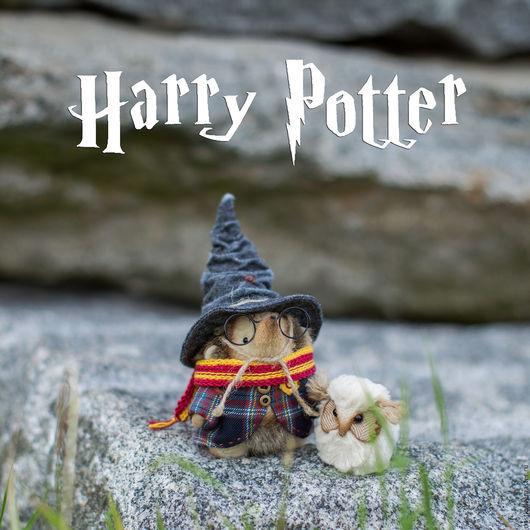 Мишки Тедди ручной работы. Ярмарка Мастеров - ручная работа. Купить Гарри Поттер. Handmade. Комбинированный, вискоза Германия