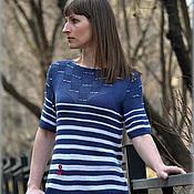 """Одежда ручной работы. Ярмарка Мастеров - ручная работа Шелковая кофточка """"Silk Strip"""". Handmade."""