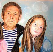Картины и панно ручной работы. Ярмарка Мастеров - ручная работа Семейный портрет. Handmade.