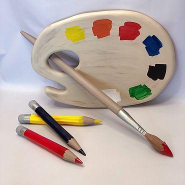 Дизайн и реклама ручной работы. Ярмарка Мастеров - ручная работа Юный художник. Handmade.