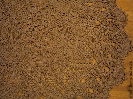 Текстиль, ковры ручной работы. Ярмарка Мастеров - ручная работа. Купить Ковёр Гранд. Handmade. Бежевый, коричневый