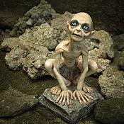 Куклы и игрушки handmade. Livemaster - original item Gollum the Lord of the rings (was made to order). Handmade.