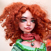 Куклы и пупсы ручной работы. Ярмарка Мастеров - ручная работа Кукла ручной работы. Рыжая Марта. Handmade.