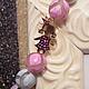 Браслеты ручной работы. Ярмарка Мастеров - ручная работа. Купить браслет девочка. Handmade. Розовый, браслет из камней