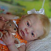 Куклы и игрушки ручной работы. Ярмарка Мастеров - ручная работа Продам малышку Элеонору и её мышку Леокадию лимитки. Handmade.