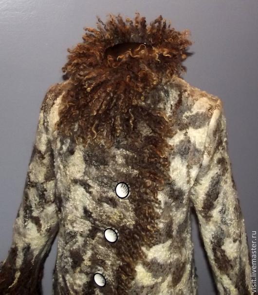 """Верхняя одежда ручной работы. Ярмарка Мастеров - ручная работа. Купить Пальто валяное """"Песнь ветров""""-индивидуальный заказ. Handmade."""