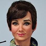 Куклы и игрушки ручной работы. Ярмарка Мастеров - ручная работа Портретная кукла Audrey Hepburn (Одри Хепберн). Handmade.