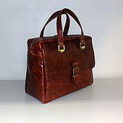 Сумки и аксессуары handmade. Livemaster - original item Bag leather 101. Handmade.