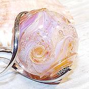 Украшения handmade. Livemaster - original item Spiral galaxy Linii - pendant - necklace galaxy lampwork. Handmade.
