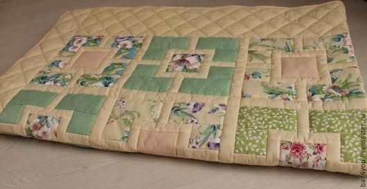 """Текстиль, ковры ручной работы. Ярмарка Мастеров - ручная работа. Купить Лоскутное покрывало """"Времена года -4"""". Handmade. одеяло"""