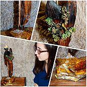 Сувениры и подарки handmade. Livemaster - original item Table Candle holder-Souvenir