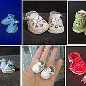Заготовки для кукол и игрушек ручной работы. Ярмарка Мастеров - ручная работа Обувь для кукол и игрушек. Handmade.