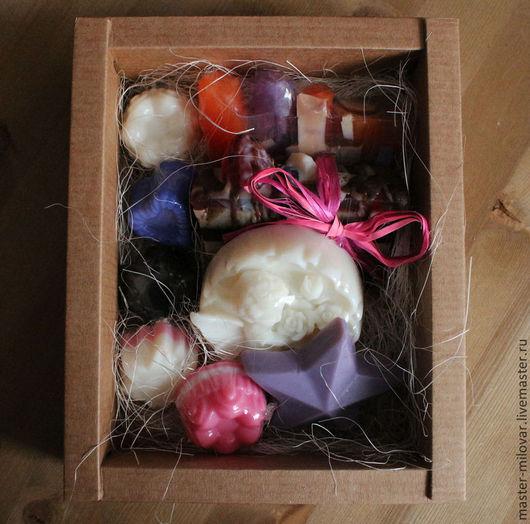 Мыло ручной работы. Ярмарка Мастеров - ручная работа. Купить Мыло ручной работы в подарочной упаковке арт.b003078. Handmade.