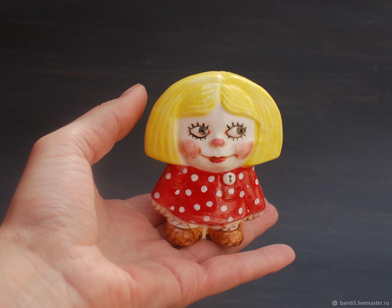 Domovenok Kuzya. Figurine porcelain, Figurines, Moscow,  Фото №1