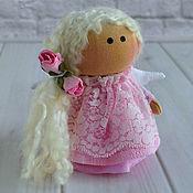 Куклы и игрушки handmade. Livemaster - original item Angel little pink. Handmade.