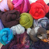 Fabric handmade. Livemaster - original item A set of Merino/silk. Handmade.
