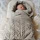 """Пледы и одеяла ручной работы. Ярмарка Мастеров - ручная работа. Купить Плед """"Жемчужные сны малыша"""". Handmade. Бежевый"""