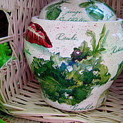 Для дома и интерьера handmade. Livemaster - original item The pot