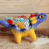 Куклы и игрушки ручной работы. Ярмарка Мастеров - ручная работа Маленький морской дракон. Handmade.