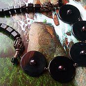 """Украшения ручной работы. Ярмарка Мастеров - ручная работа Колье""""Black art"""". Handmade."""