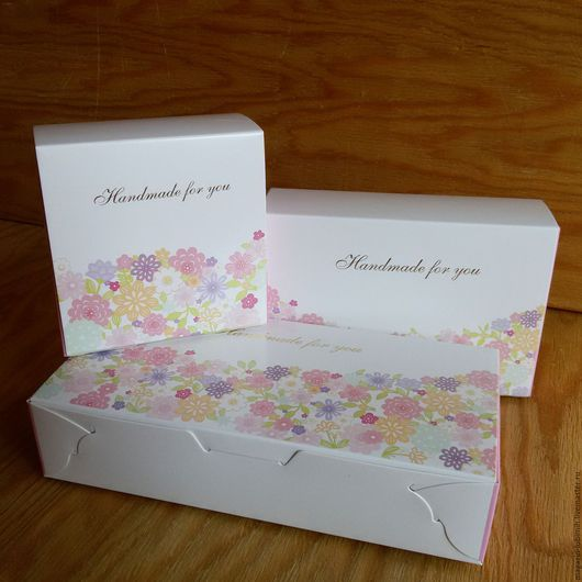 Упаковка ручной работы. Ярмарка Мастеров - ручная работа. Купить Коробочка цветочная (3 размера). Handmade. Коробка, подарочная упаковка