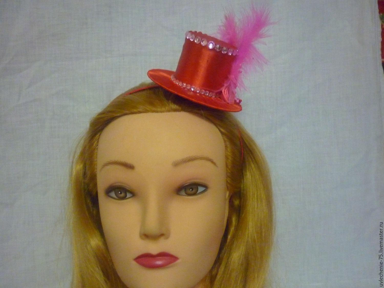 Как сделать шляпки с ободком