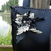 Сумки и аксессуары handmade. Livemaster - original item Bag black leather ART.50070. Handmade.