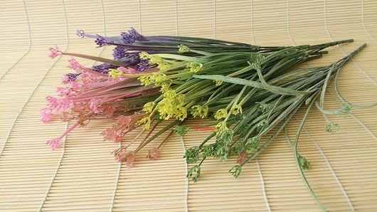 Материалы для флористики ручной работы. Ярмарка Мастеров - ручная работа. Купить Травка для букета П53. Handmade. Искусственные цветы