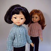 Куклы и игрушки handmade. Livemaster - original item Pink sweater for Paola Reina doll (Paola Reina). Handmade.