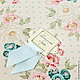 Папка для свидетельства `Васильки` В рамке могут быть написаны ваши имена.