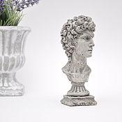 Для дома и интерьера handmade. Livemaster - original item Bust of David made of concrete antique statue table sculpture. Handmade.