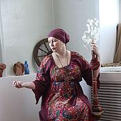 """Одежда ручной работы. Ярмарка Мастеров - ручная работа Штапельное платье """"Екатерина"""". Handmade."""