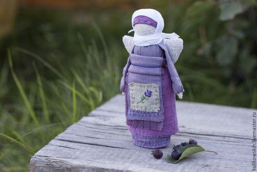 Народные куклы ручной работы. Ярмарка Мастеров - ручная работа. Купить Кукла Ангел Лавандовый. Handmade. Сиреневый, народная кула