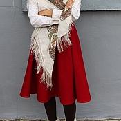 """Одежда ручной работы. Ярмарка Мастеров - ручная работа юбка """"Красна девица"""". Handmade."""