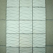 Для дома и интерьера ручной работы. Ярмарка Мастеров - ручная работа плитка гипсовая декоративная. Handmade.