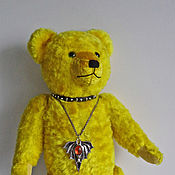 Куклы и игрушки ручной работы. Ярмарка Мастеров - ручная работа винтаж медведица  Доротея. Handmade.