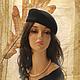 Hat 'Velvet night'. Hats1. Novozhilova Hats. Online shopping on My Livemaster.  Фото №2