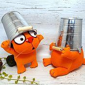 Куклы и игрушки handmade. Livemaster - original item This will definitely help? Soft toys red cats Vasya Lozhkina. Handmade.