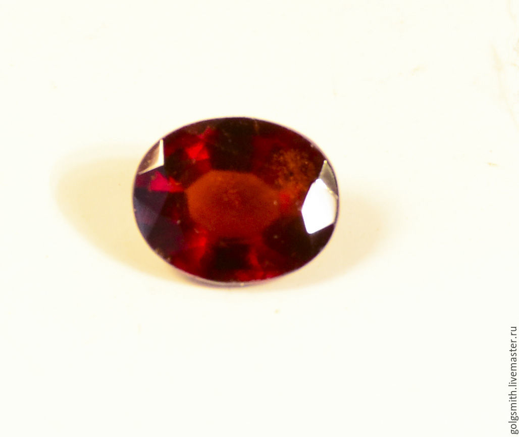 Hessonite garnet 11x9 mm. .4,1 ct, Cabochons, Rostov-on-Don,  Фото №1