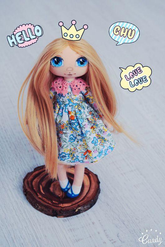 Коллекционные куклы ручной работы. Ярмарка Мастеров - ручная работа. Купить Текстильная кукла Маргаритка. Handmade. Кукла ручной работы