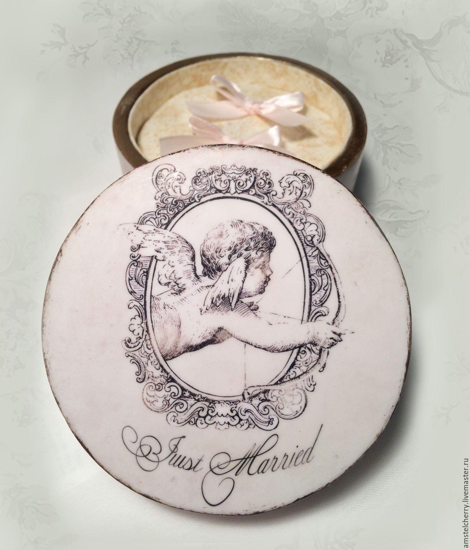 """Buy Wedding ring box """"Funny Cupid"""" ring box wedding box ring"""
