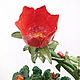 Подсвечник для трех свечей. Керамика. Плетеная керамика и керамические цветы Елены Зайченко