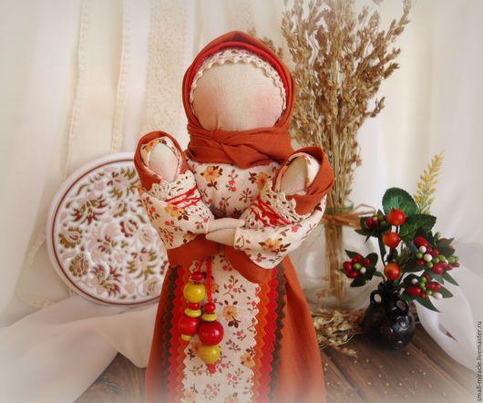 Коллекционные куклы ручной работы. Ярмарка Мастеров - ручная работа. Купить Кукла-оберег  Мамушка. Handmade. Обереги, хлопок