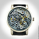 "Часы ручной работы. Ярмарка Мастеров - ручная работа. Купить Наручные часы  ""Стимпанкер"". Steampunk. Handmade. Серый, часы, стимпанк"