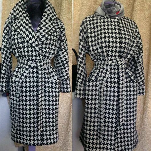 Верхняя одежда ручной работы. Ярмарка Мастеров - ручная работа. Купить Пальто  МАКСИ стиль Max Mara из итальянской ткани. Handmade.